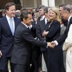 """A Londres, avec Nicolas Sarkozy et David Cameron pour la commémoration du 70e anniversaire de l'Appel du 18 juin • <a style=""""font-size:0.8em;"""" href=""""http://www.flickr.com/photos/45399752@N02/5754690091/"""" target=""""_blank"""">View on Flickr</a>"""