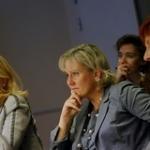 """Avec la Secrétaire d'Etat à la famille Nadine Morano, et la Ministre suédoise des Affaires européennes Cecilia Malmström lors d'une rencontre ministérielle sur l'égalité entre hommes et femmes dans la sphère professionnelle (oct. 2009) • <a style=""""font-size:0.8em;"""" href=""""http://www.flickr.com/photos/45399752@N02/5776039561/"""" target=""""_blank"""">View on Flickr</a>"""