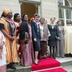 """Rencontre avec la présidente du Liberia, femmes africaines, Brigitte Girardin, Michèle Alliot Marie et la présidente du Medef • <a style=""""font-size:0.8em;"""" href=""""http://www.flickr.com/photos/45399752@N02/5621592850/"""" target=""""_blank"""">View on Flickr</a>"""