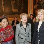 """Avec Rigoberta Menchú, Prix Nobel de la Paix et Ana Isabel Prera, ambassadrice du Guatemala en France • <a style=""""font-size:0.8em;"""" href=""""http://www.flickr.com/photos/45399752@N02/5954639710/"""" target=""""_blank"""">View on Flickr</a>"""