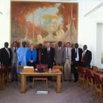 """Accueil au Sénat d'Abdoulie Bojang, président de l'Assemblée nationale de Gambie, Fabakary Jatta, chef de la majorité parlementaire, Momodou Sanneh, chef de l'opposition parlementaire et Netty Baldeh, député • <a style=""""font-size:0.8em;"""" href=""""http://www.flickr.com/photos/45399752@N02/5912349004/"""" target=""""_blank"""">View on Flickr</a>"""