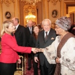"Avec Ellen Johnson-Sirleaf, présidente du Liberia • <a style=""font-size:0.8em;"" href=""http://www.flickr.com/photos/45399752@N02/5954639708/"" target=""_blank"">View on Flickr</a>"