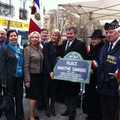 Inauguration de la place Marthe Simard