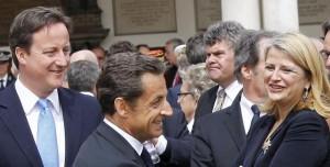 À Londres, avec le Président de la République et le Premier ministre britannique pour la commémoration du 70e anniversaire de l'Appel du 18 juin