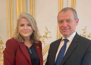 Avec le Général Ménaouine pour discuter du SNU et de la JDC - 31 janvier 2020