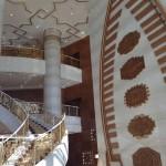 Le luxe de l'hôtel Pullman (pas encore ouvert au public) d'Ashgabat