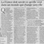 Le Figaro du 30/01/15