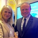 Avec le Premier Ministre de Malte Joseph Muscat