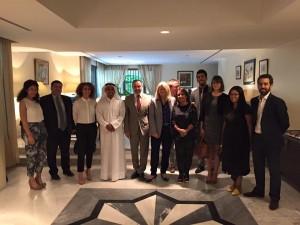 Koweit_Rencontre avec société civile et ong