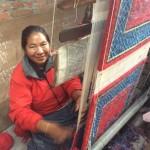 Au centre de réfugiés tibétains de Katmandou _ filage 3