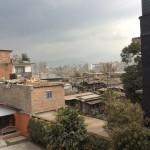 Katmandou vu de l'AF