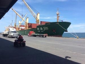 Costa Rica_port de Caldera