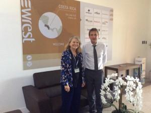 CostaRica_avec Pierre Martens, directeur général de l'entreprise Newrest