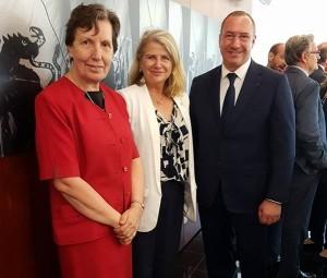 Avec Maryse Bossière et Frédéric Garcia