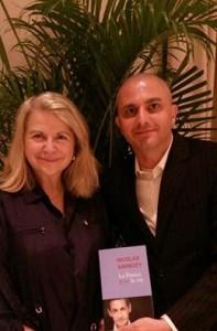 Avec le délégué des Républicains Patrick Rojtman