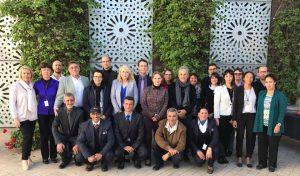 Avec l'équipe du Consulat