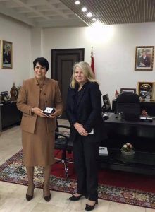 Avec Zineb El Adaoui