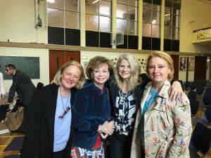 Avec Françoise Conestabile, Jacky Deromedi et Madeleine Ben Naceur