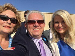 Avec Maryse Laurenti et Laurent Rigaud